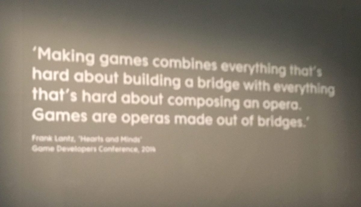 video game exhibition in V&A museum www.gamificationnation.com