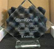 Excellence in No-Tech Gamification Design at GamiCon 2018